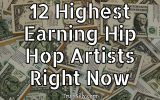 12 highest earning hip hop artists right now